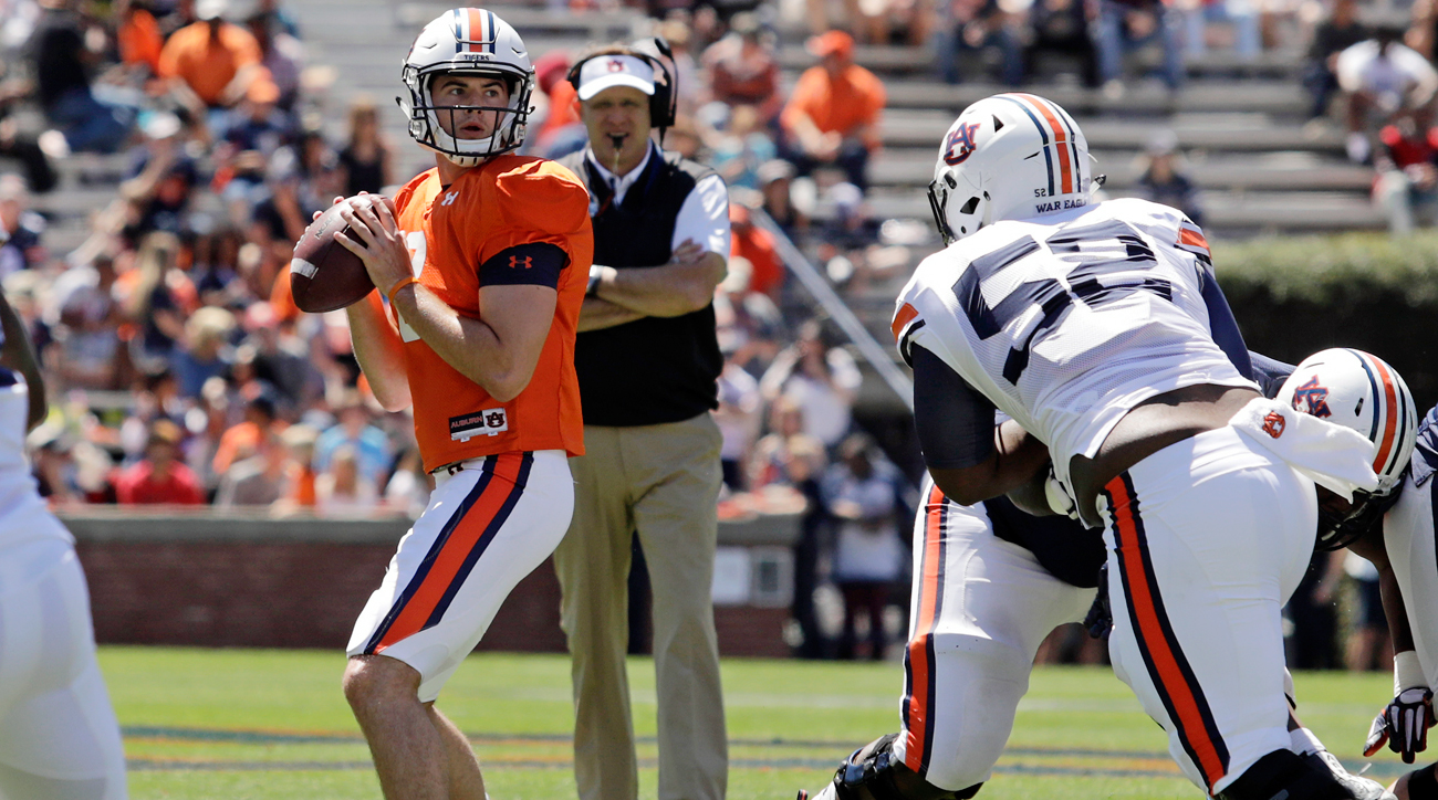 stidham guys Watch the alabama defenders drift outside they were in man coverage and  following auburn's skill players stidham isn't the fastest.