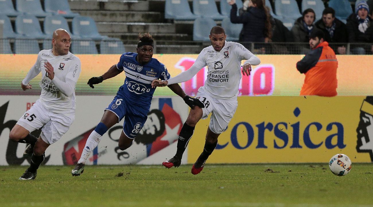 Caen, Bastia are fighting relegation from Ligue 1