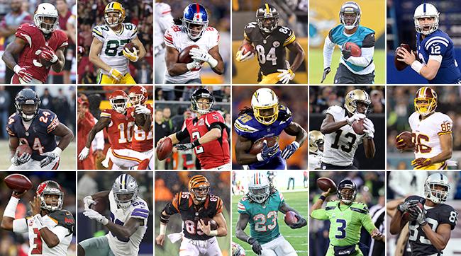 Fantasy Footballs Top 100 Players for 2017  SI.com