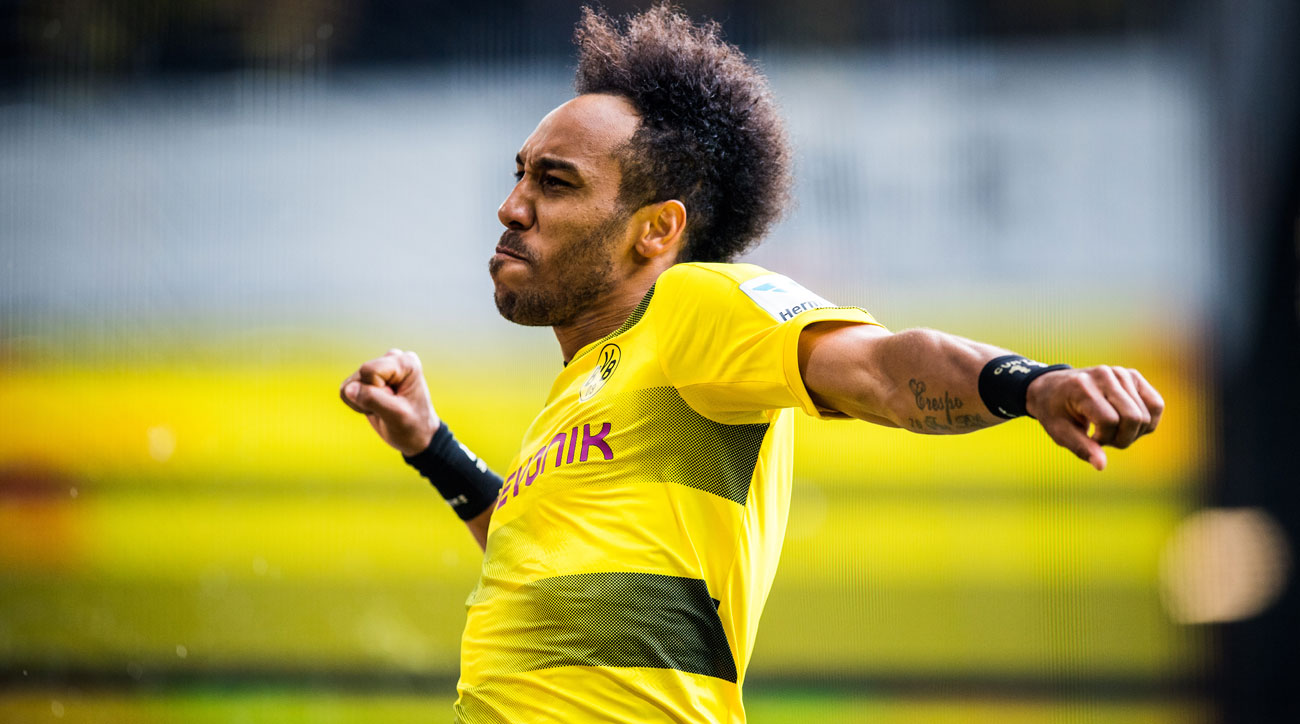 Pierre-Emerick Aubameyang ends the season as Bundesliga's top scorer