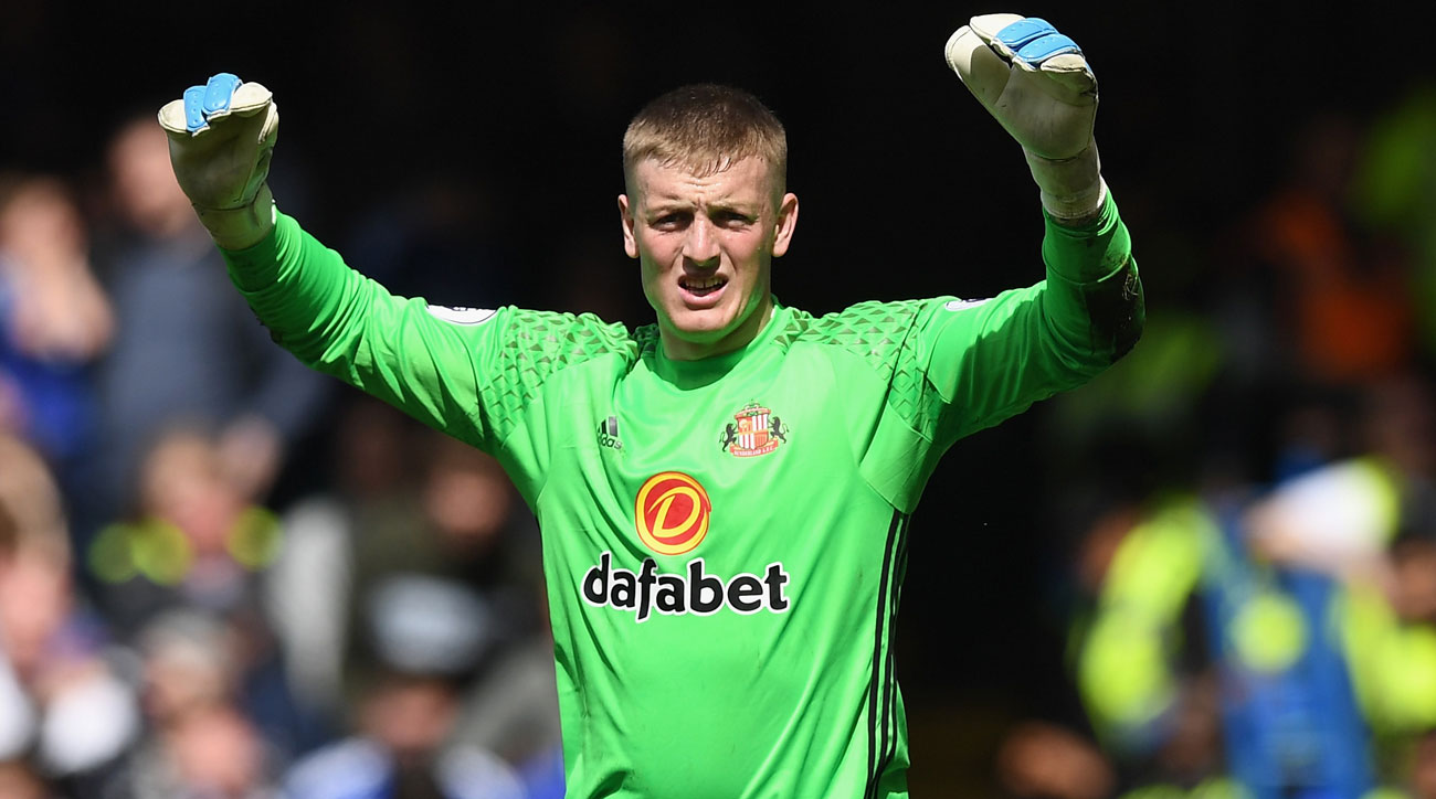 Jordan Pickford could be a hot commodity on the summer transfer market