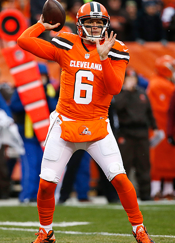 Browns quarterback Cody Kessler