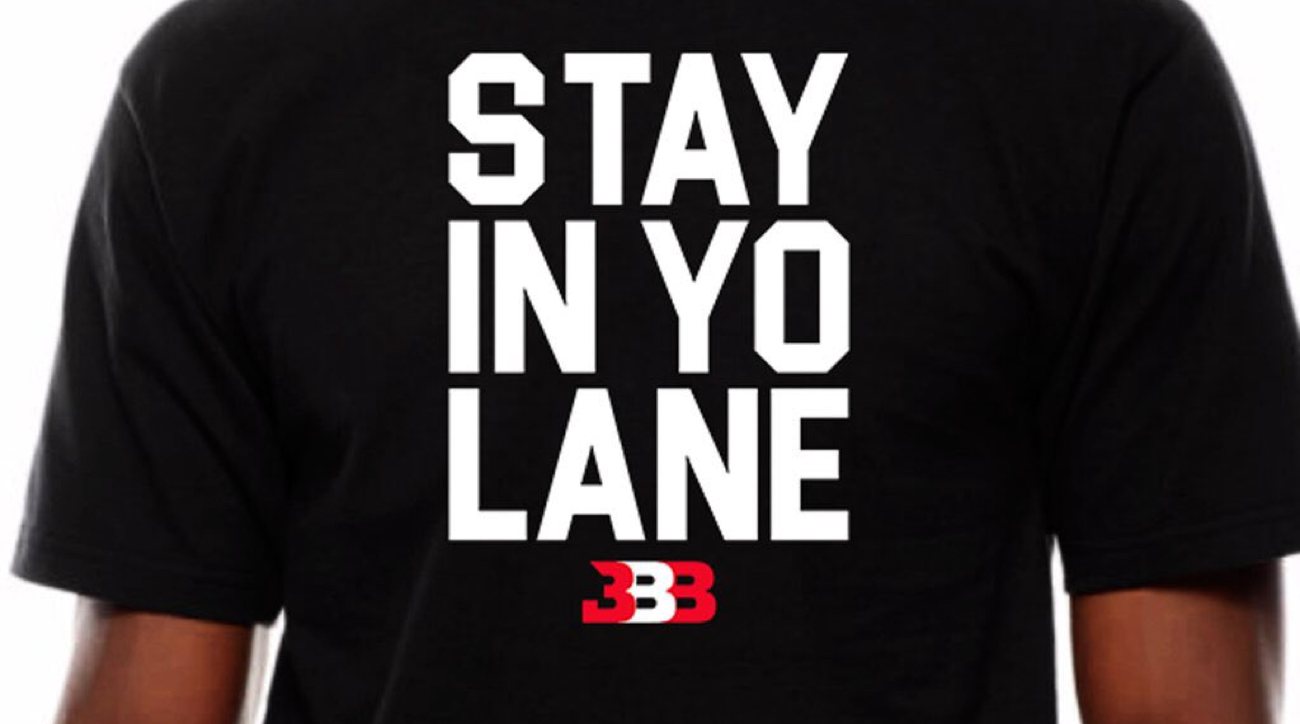 LaVar Ball now selling 'Stay in yo lane' t-shirt and women's merchandise