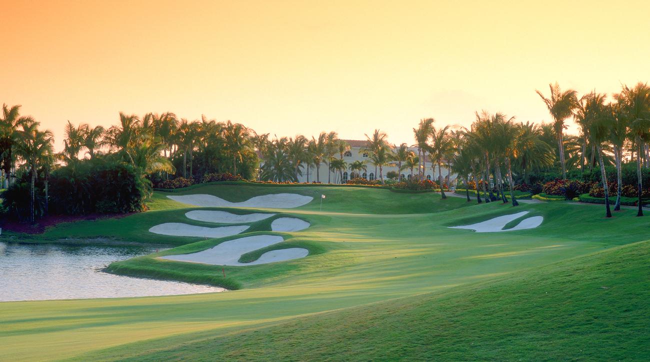Trump International Golf Club, West Palm Beach, Florida.