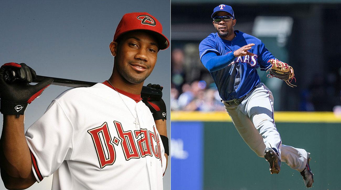 Chris Young, Arizona Diamondbacks; Elvis Andrus, Texas Rangers