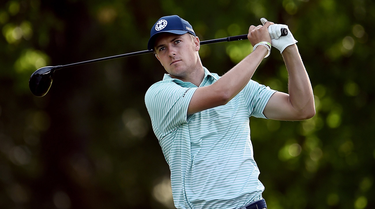 Jordan Spieth recovered from a bad start by going 5 under over his final 13 holes at Colonial on Friday.