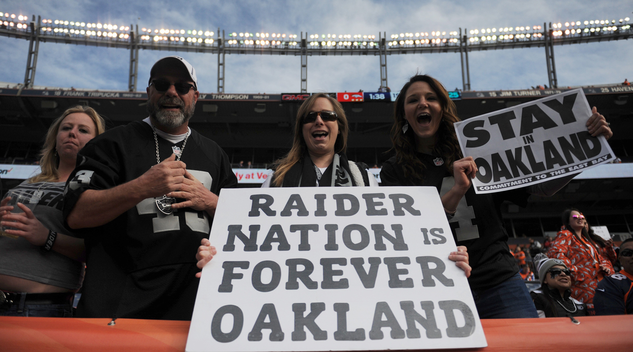 Oakland fans aren't abandoning the Raiders, even with the team set to leave for Vegas in 2020.