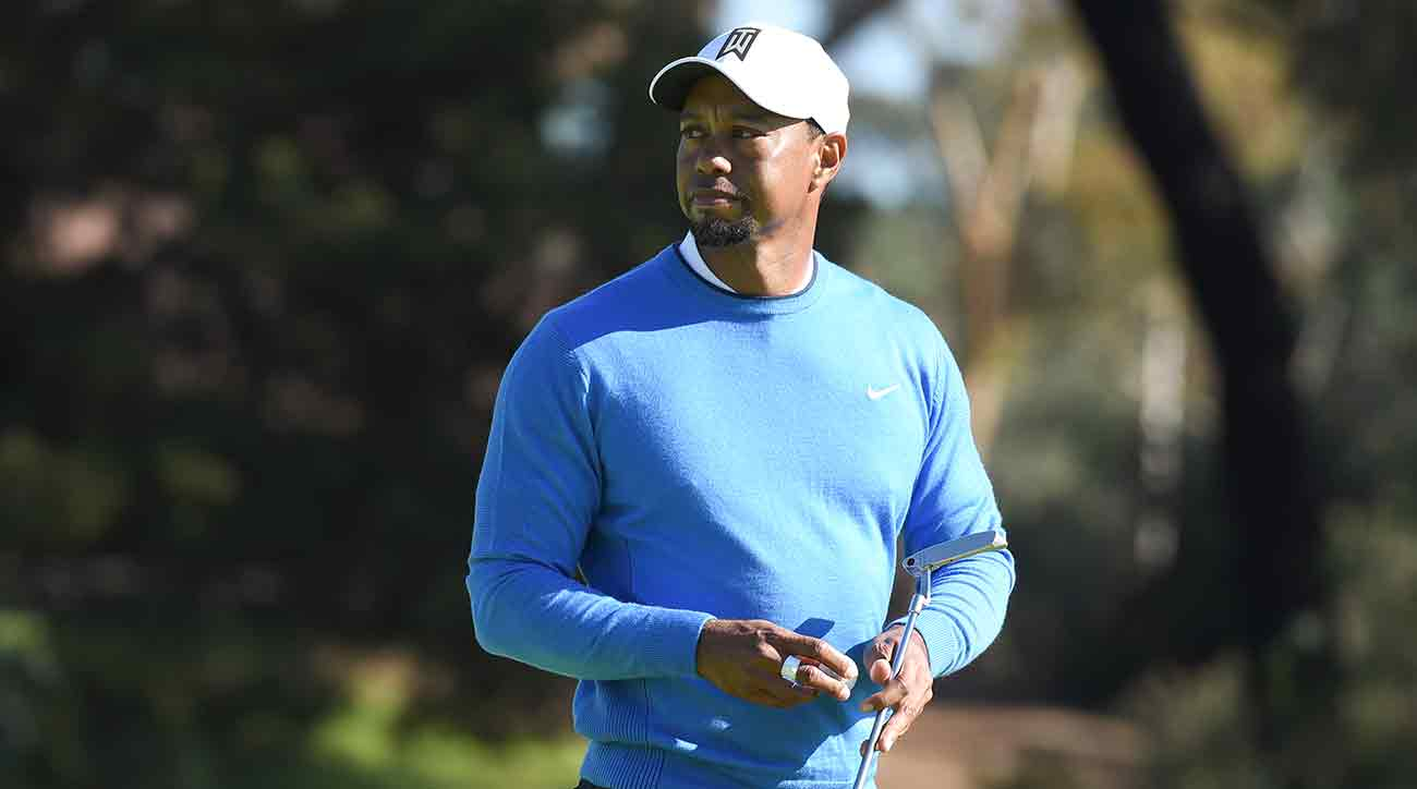 Tiger Woods was found asleep in his vehicle Monday morning in Florida.