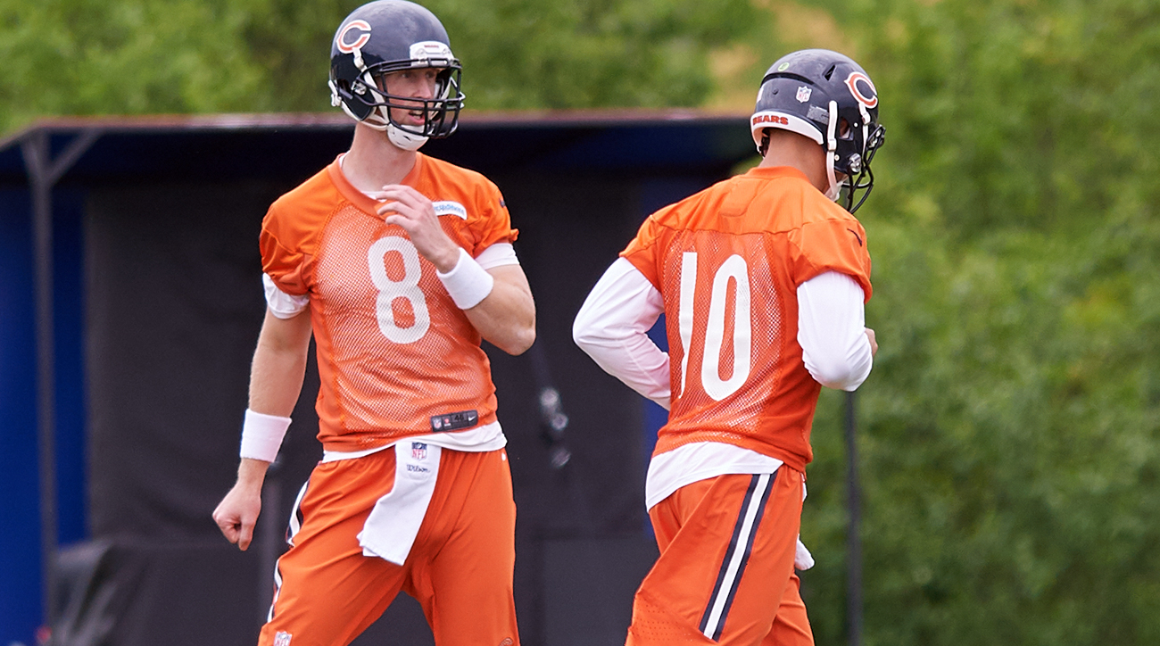 Bears offseason report card: Mike Glennon and Mitch Trubisky