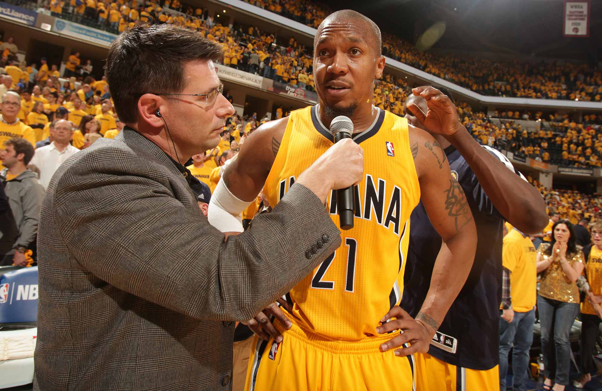 NBA Finals 2017 David West s Guide To Handling The Media