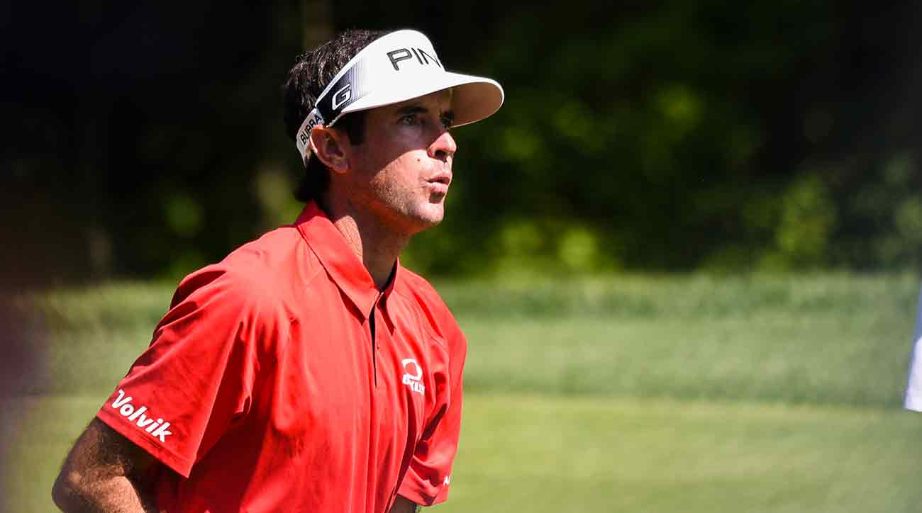 Bubba Watson's strong back nine pushed him into contention at the Memorial.