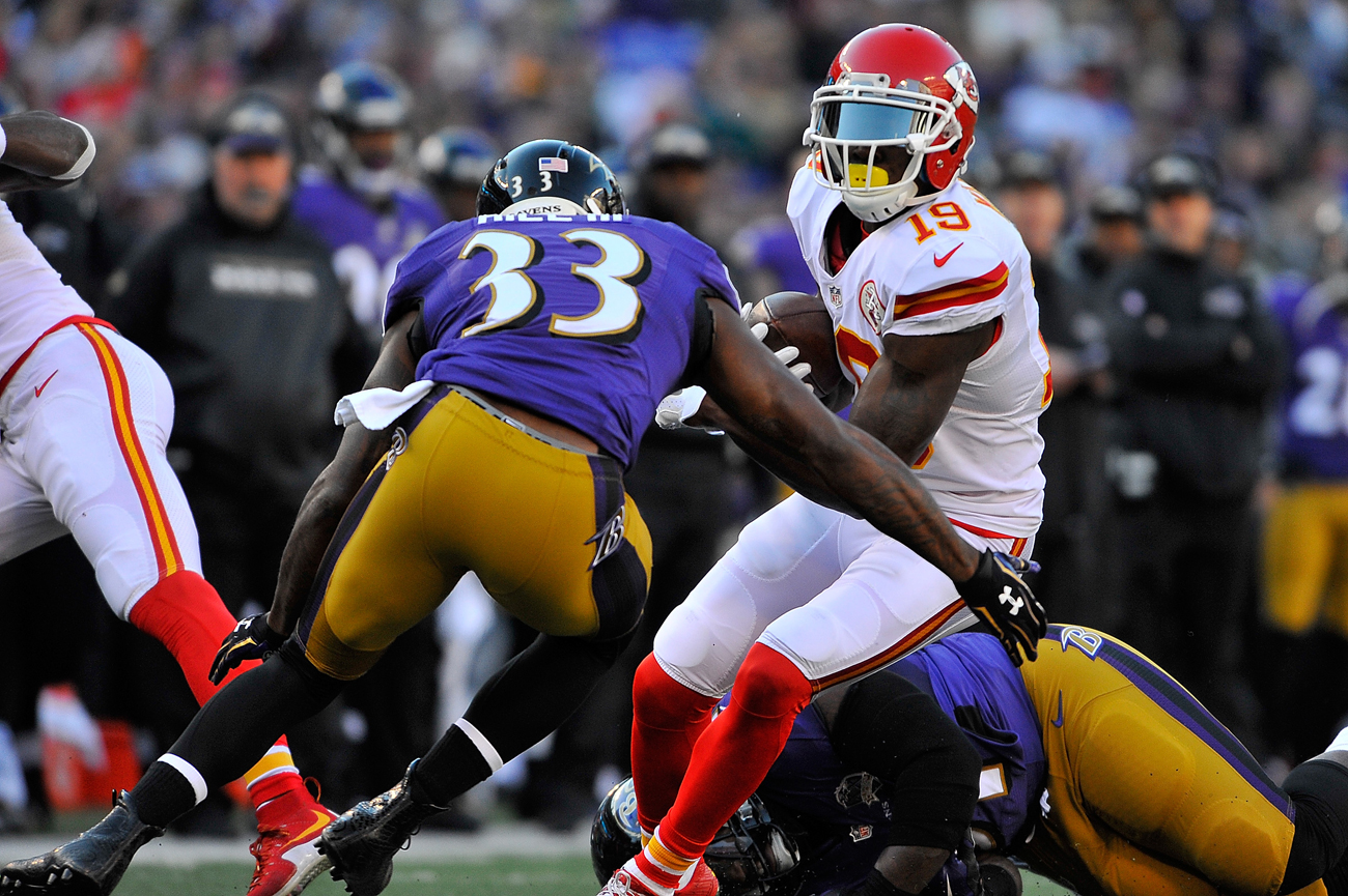 The Chiefs released 29-year-old wide receiver Jeremy Maclin, who now might be a good fit for the Ravens.