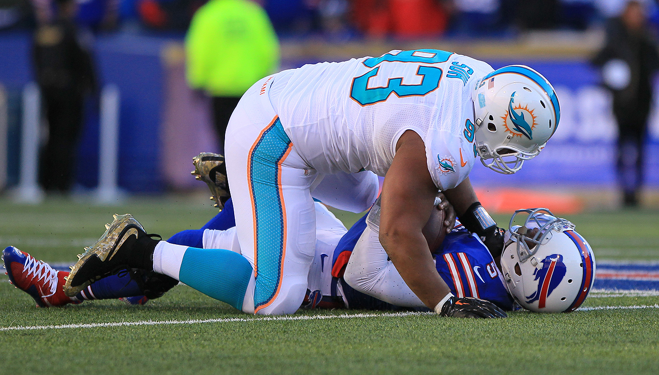 Ndamukong Suh has started every game but two during his seven-year NFL career.
