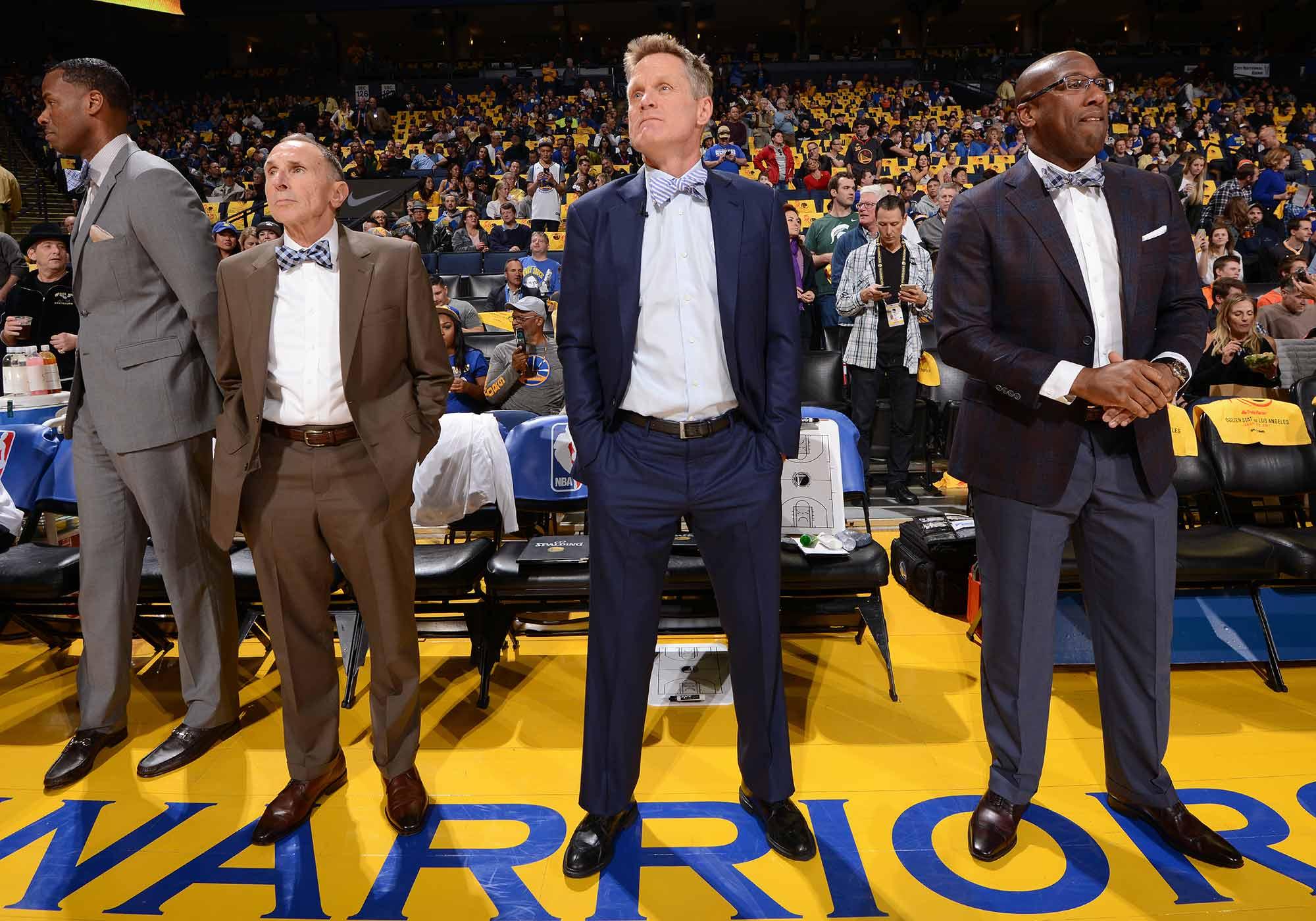 Warriors coaches