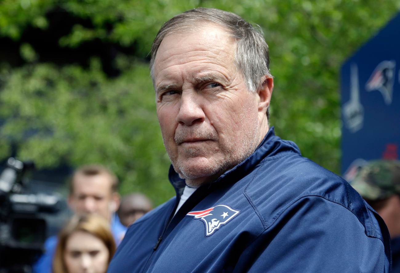 Bill Belichick isn't letting his players off easy after winning the Super Bowl.