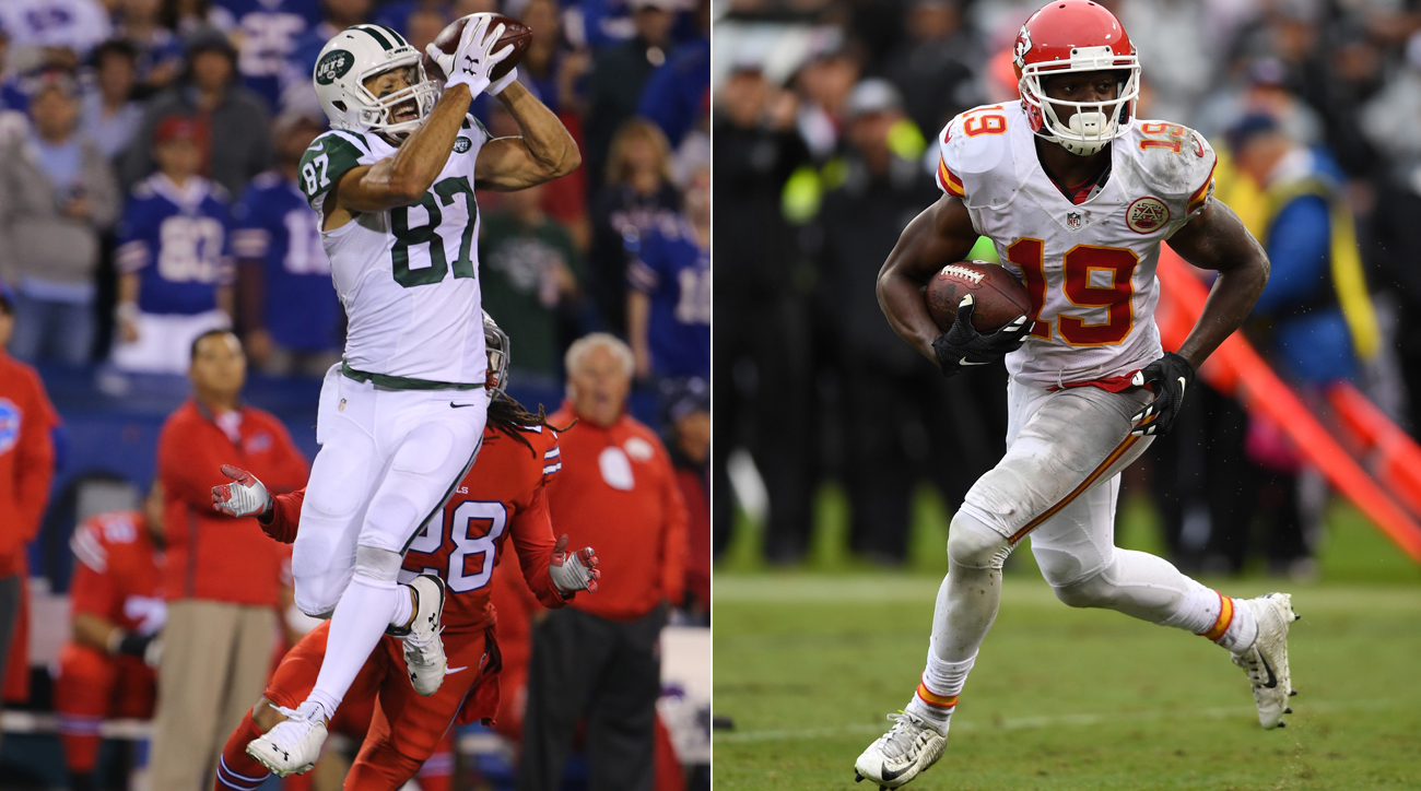 Wideouts Eric Decker and Jeremy Maclin unexpectedly hit the market in June after they were released.
