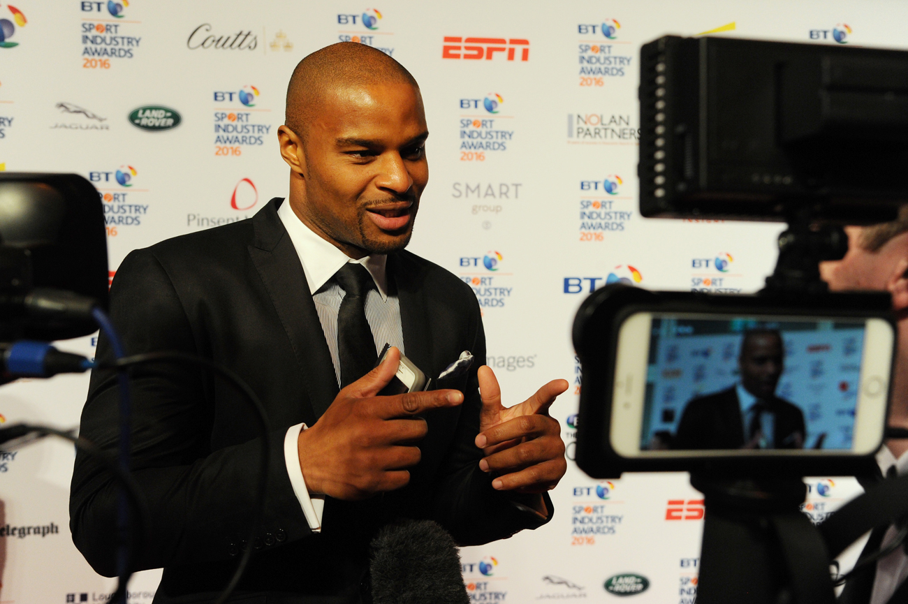 Former Giants pass rusher Osi Umenyiora has a post-football career covering the NFL for the BBC.