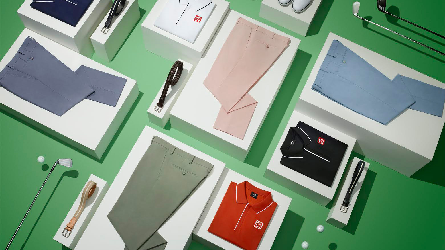 Adam Scott's Uniqlo duds for the U.S. Open at Erin Hills.