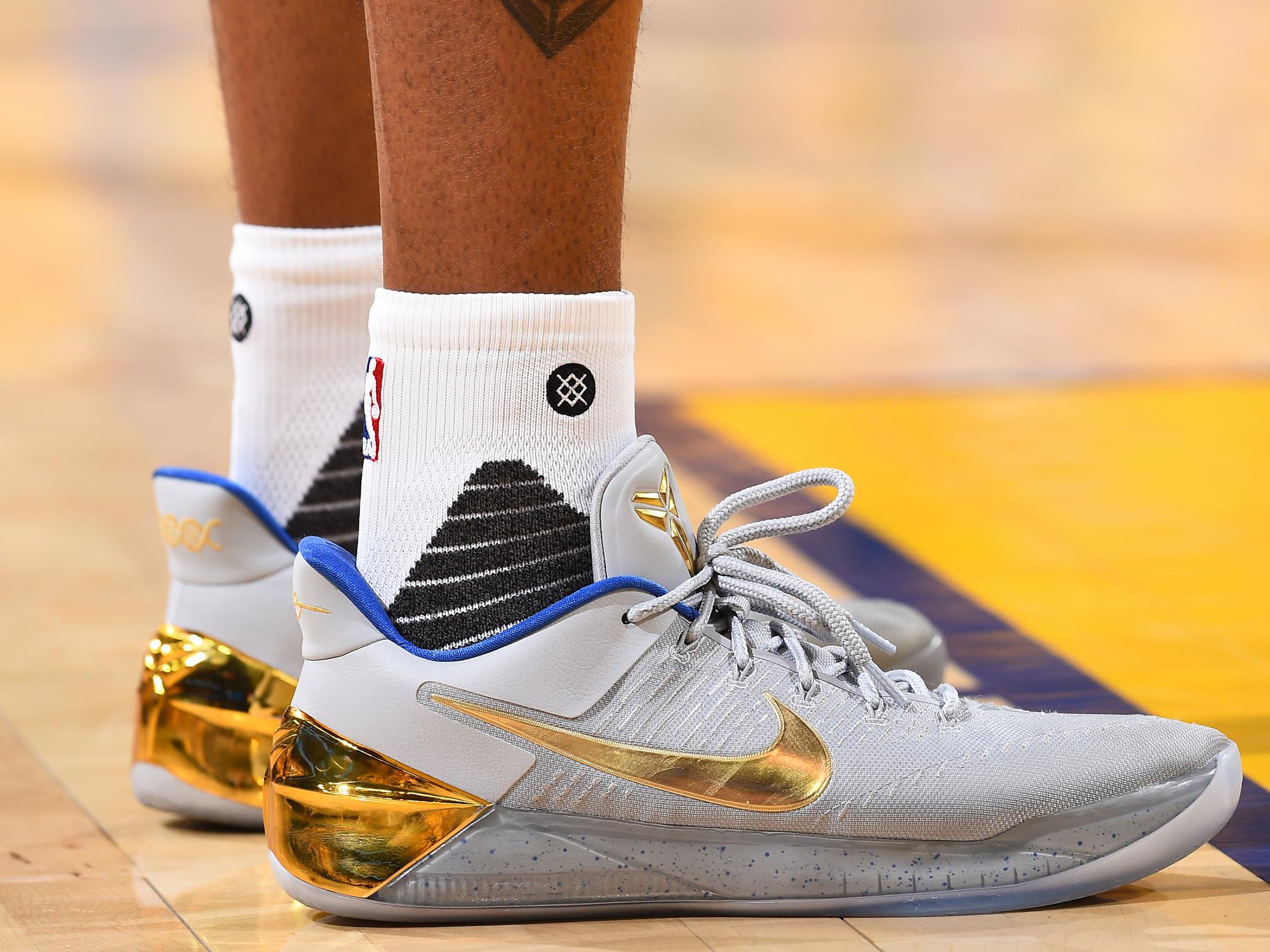 Nike Kobe AD PE worn by Andre Igoudala
