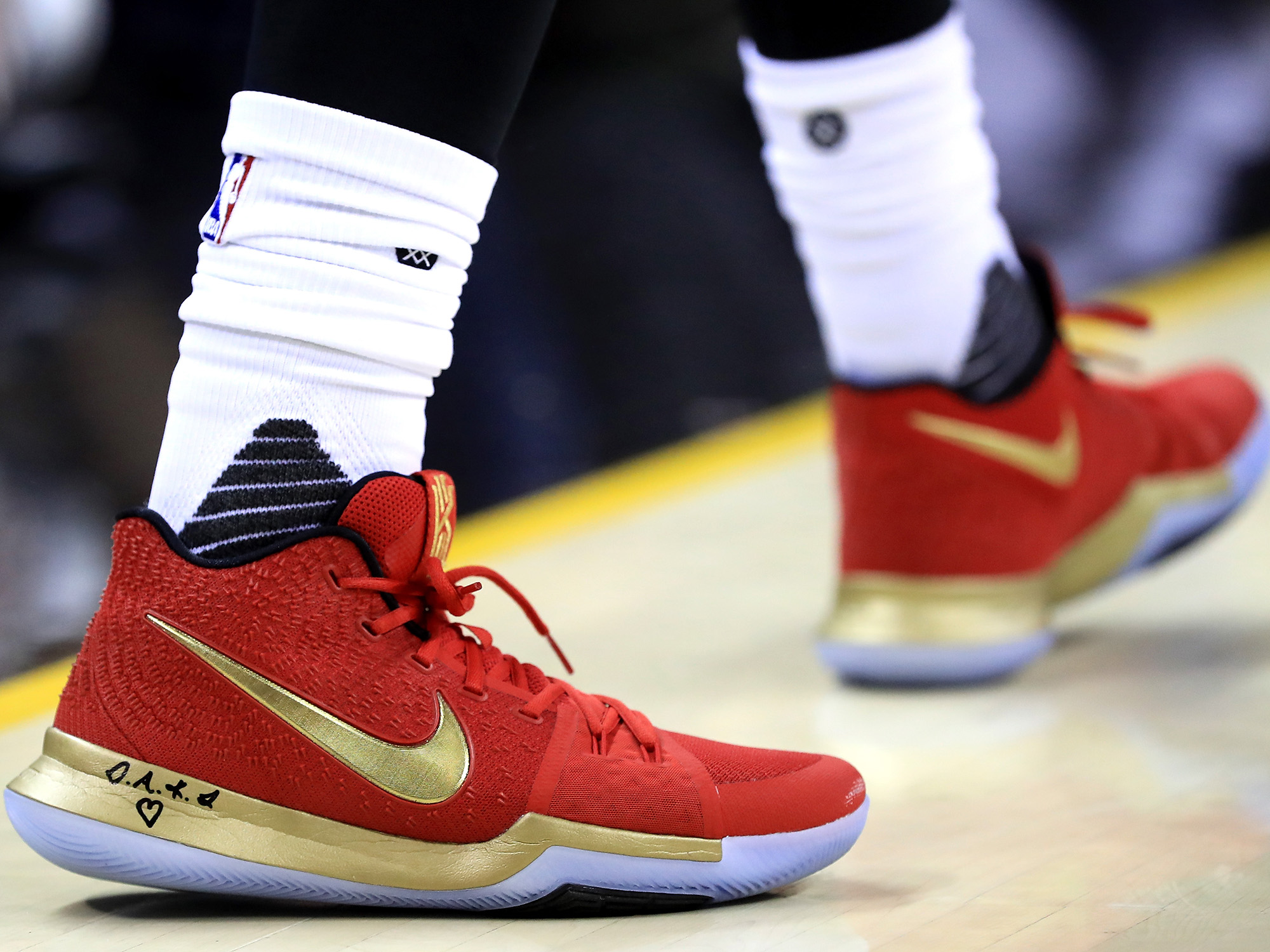 Nike Kyrie 3 PE worn by Kyrie Irving