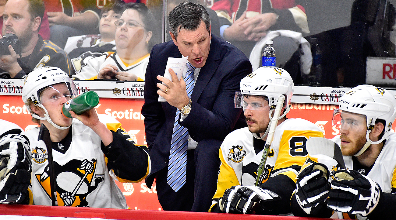 Mike Sullivan and Sidney Crosby