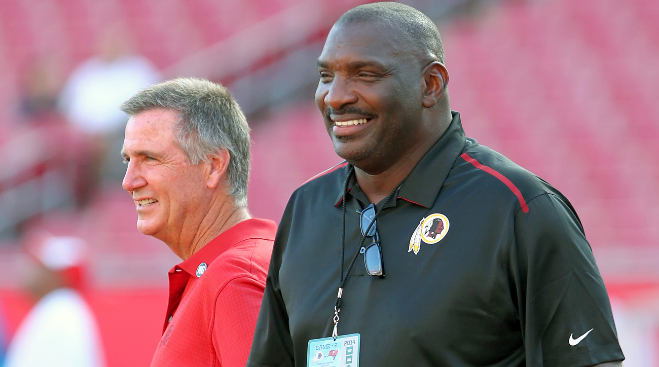 Doug Williams will lead Washington's personnel department and report to team president Bruce Allen.