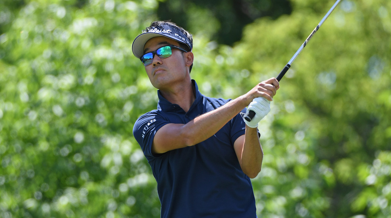 Kevin Na during the first round of the 2017 U.S. Open at Erin Hills.