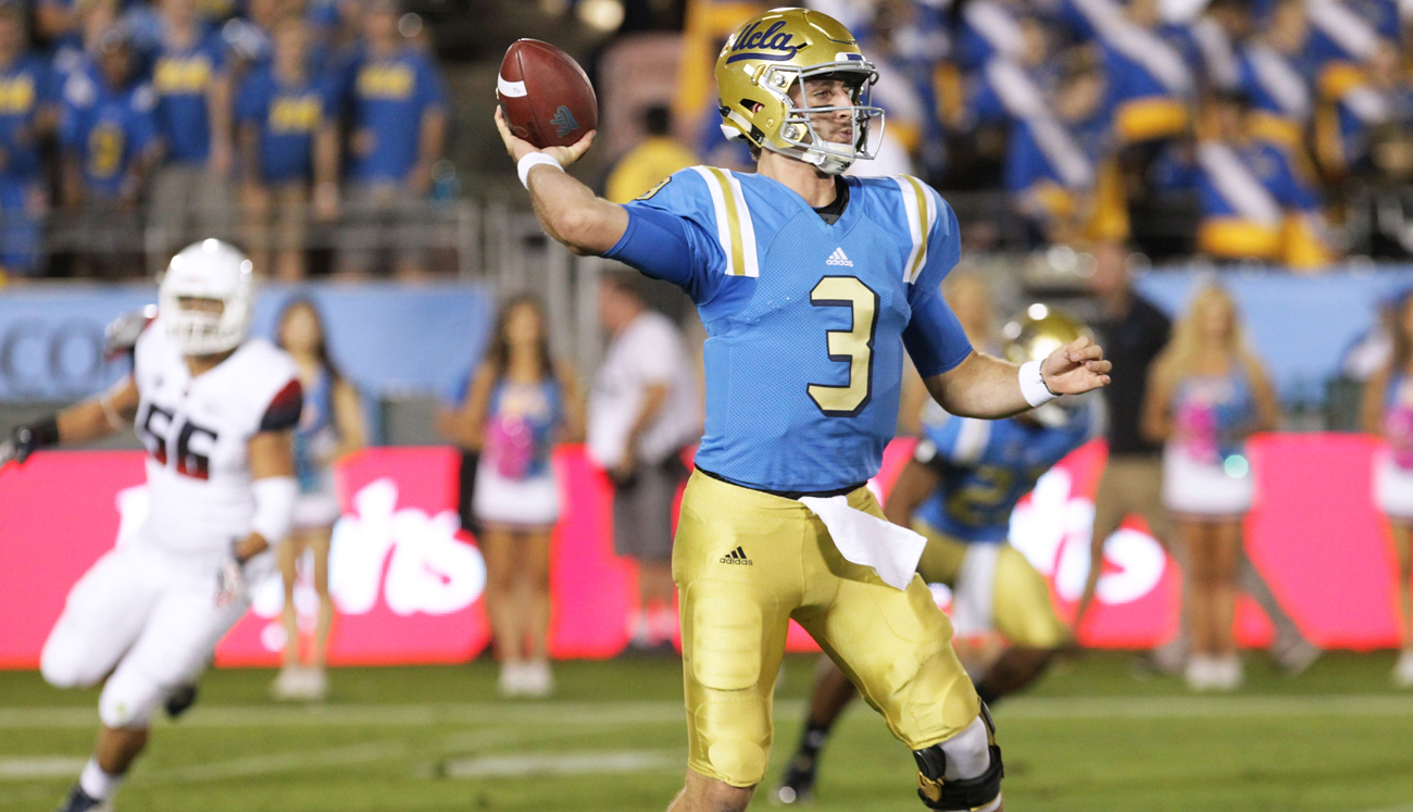 UCLA junior quarterback Josh Rosen.