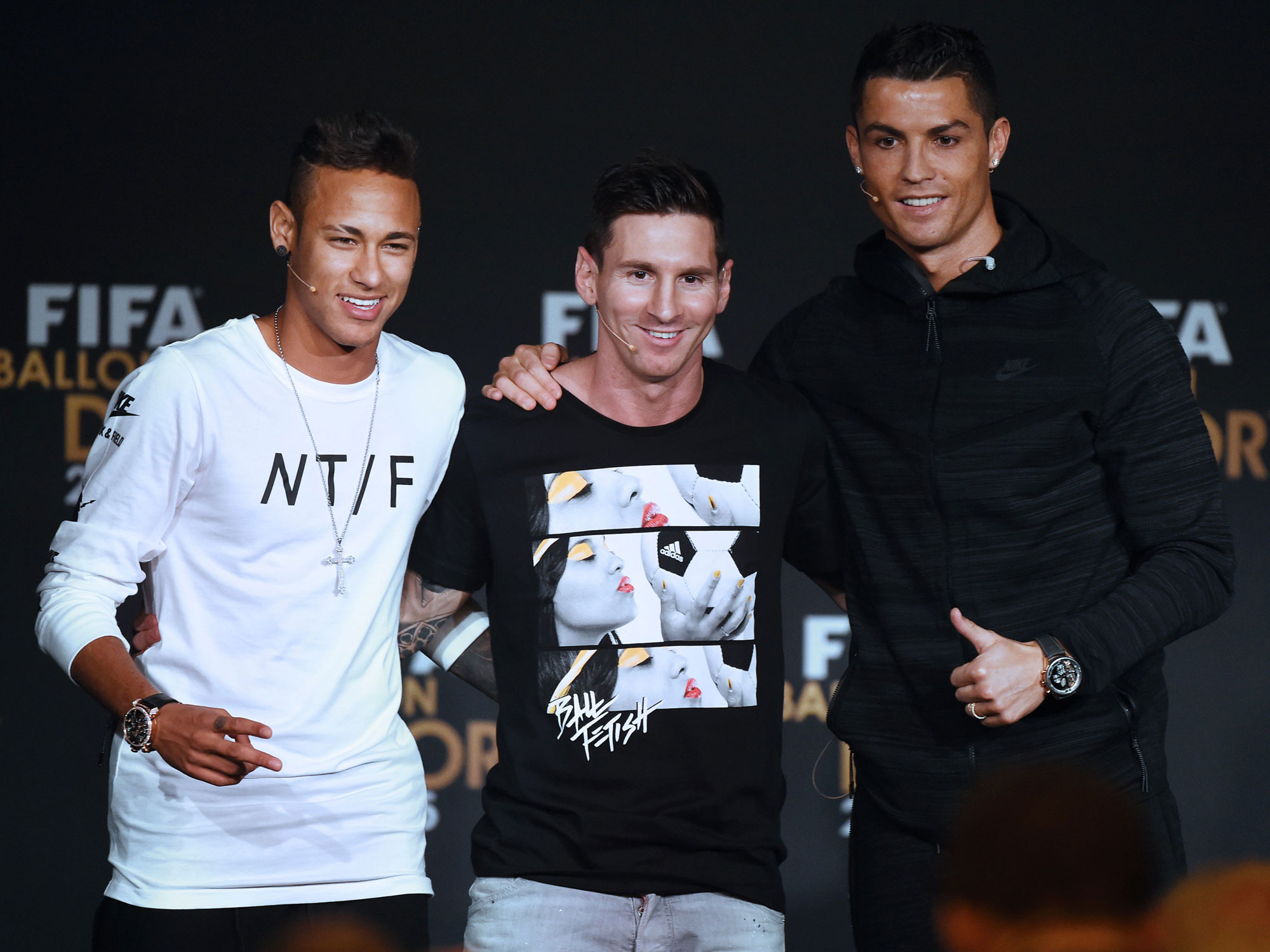 Neymar, Lionel Messi and Cristiano Ronaldo are all involved in fraud cases