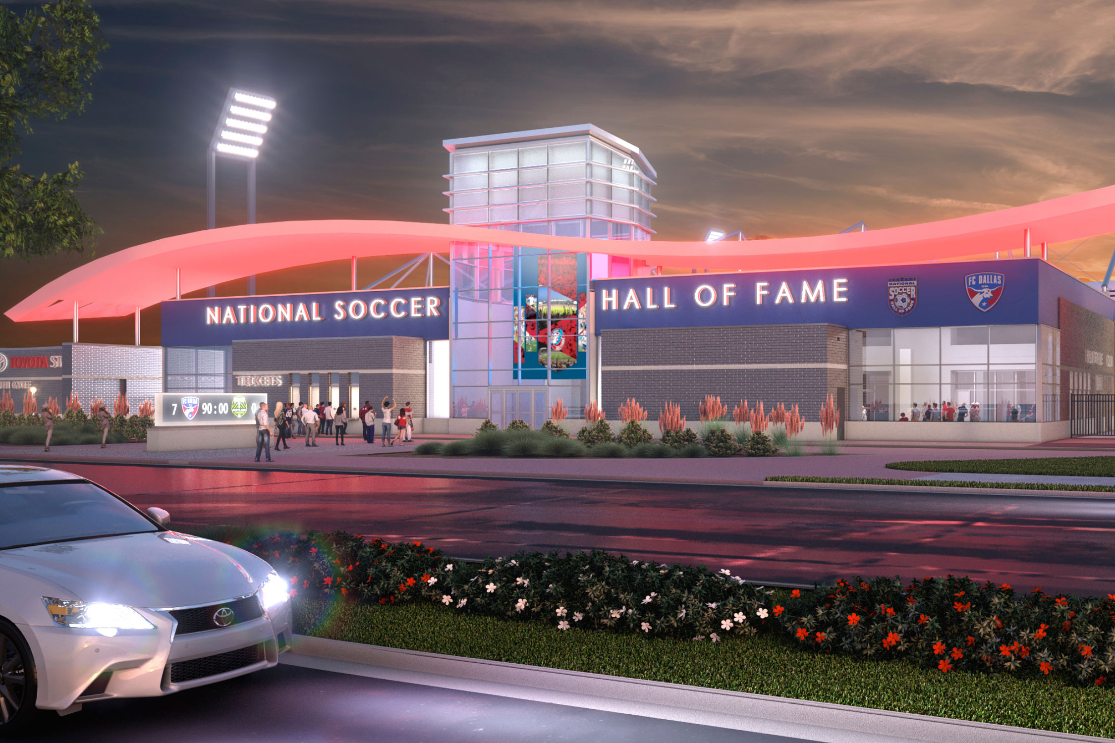 FC Dallas's Toyota Stadium will be the new site for the U.S. National Soccer Hall of Fame.