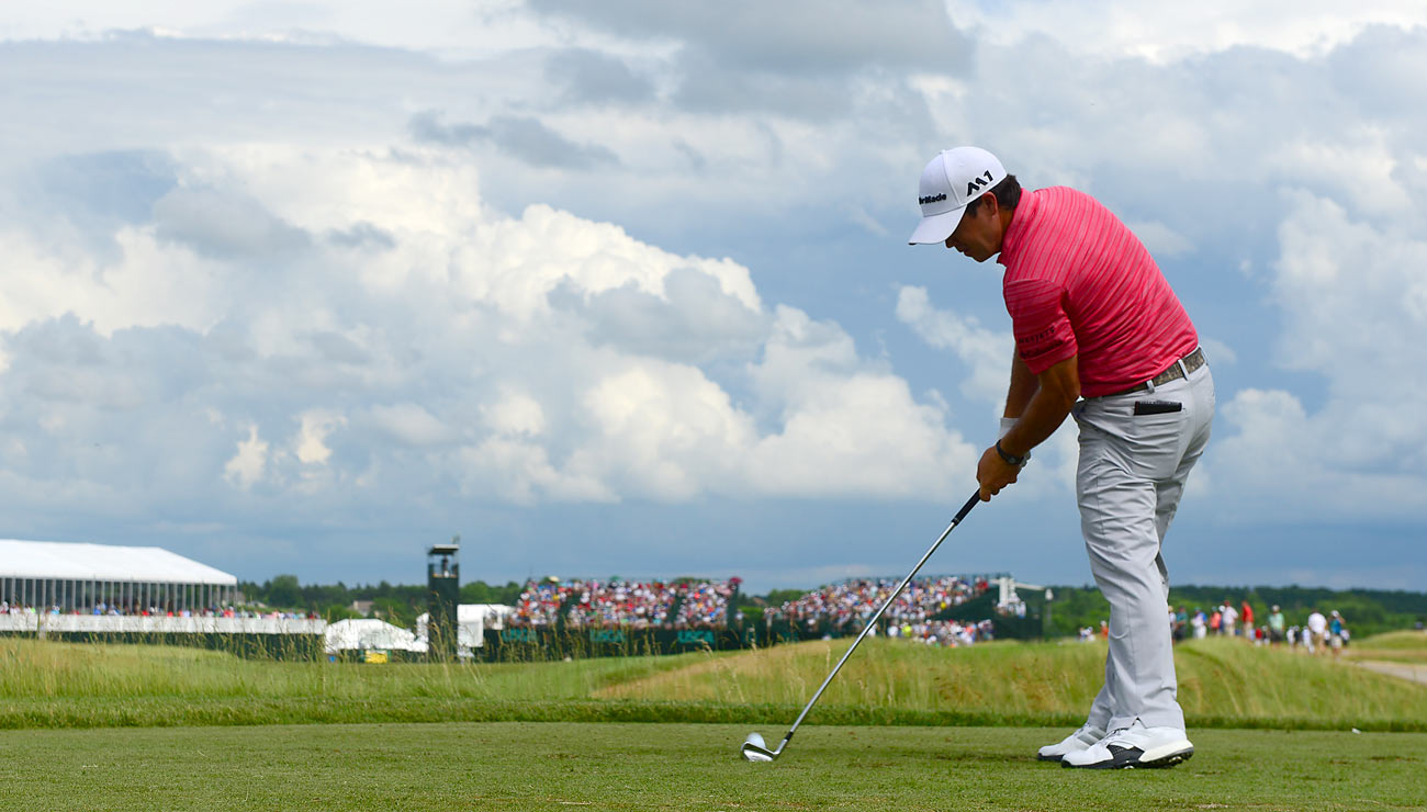 Before this week, Harman had never made a cut at a U.S. Open.