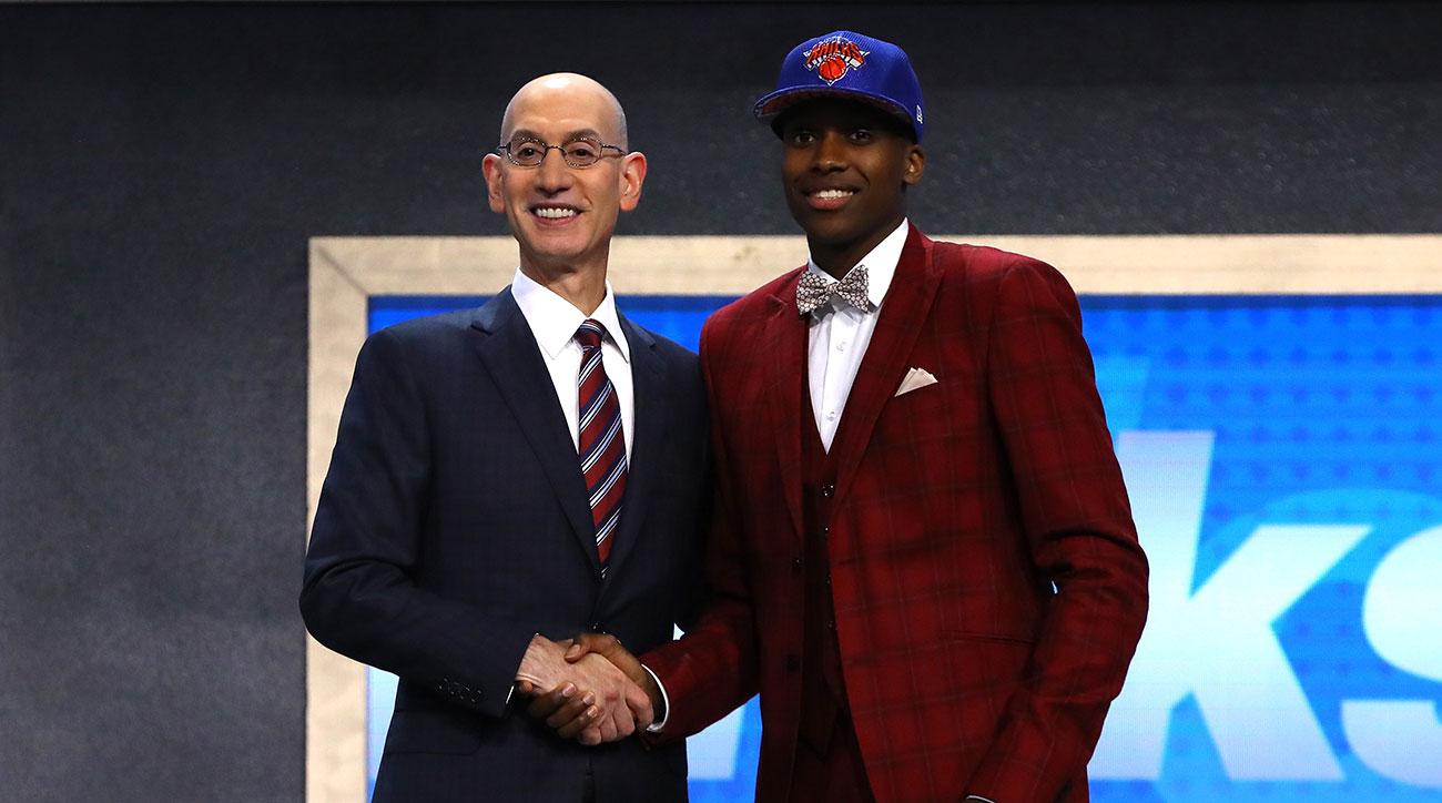 Watch: Knicks fans don't seem to mind Frank Ntilikina pick at No. 8