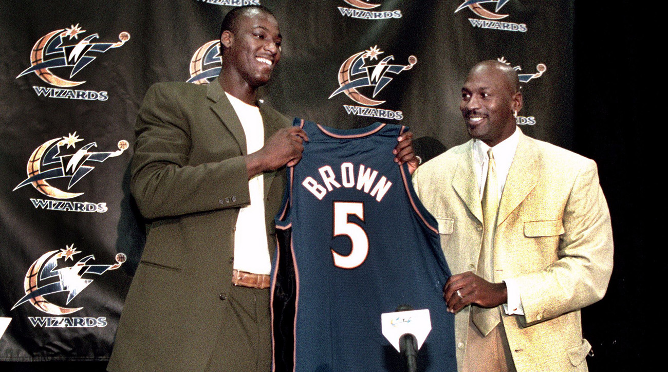 Kwame Brown: Michael Jordan never brought me to tears