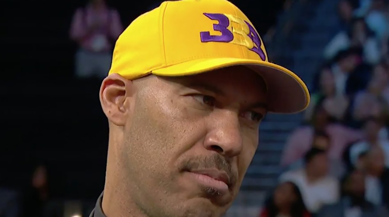 LaVar Ball says 'Lonzo Ball is going to take the Lakers to the playoffs in his first year'