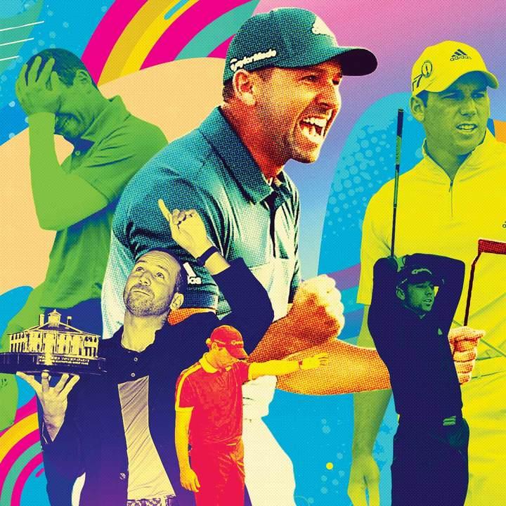 Ben Hogan won eight majors after he turned 37. As for Sergio ... who knows?