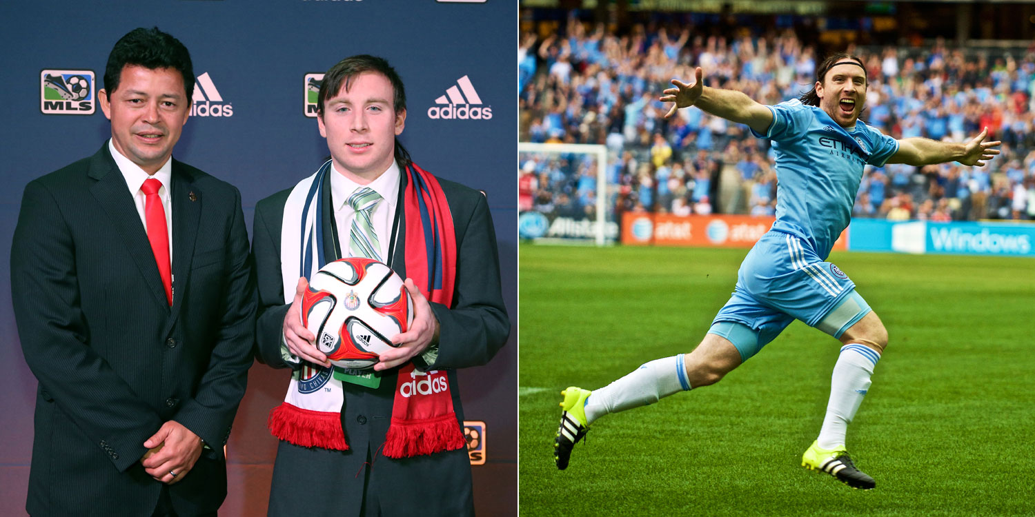 A Chivas USA draft pick, Tommy McNamara has blossomed with NYCFC.