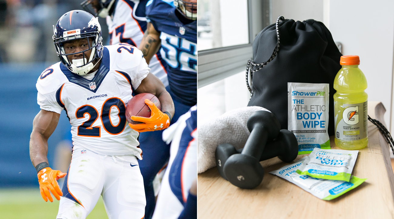Former NFL running back Justin Forsett co-founded a company that helps athletes tackle hygiene.