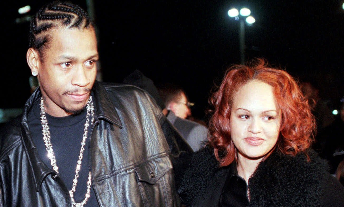 Allen Iverson with Tawanna Turner