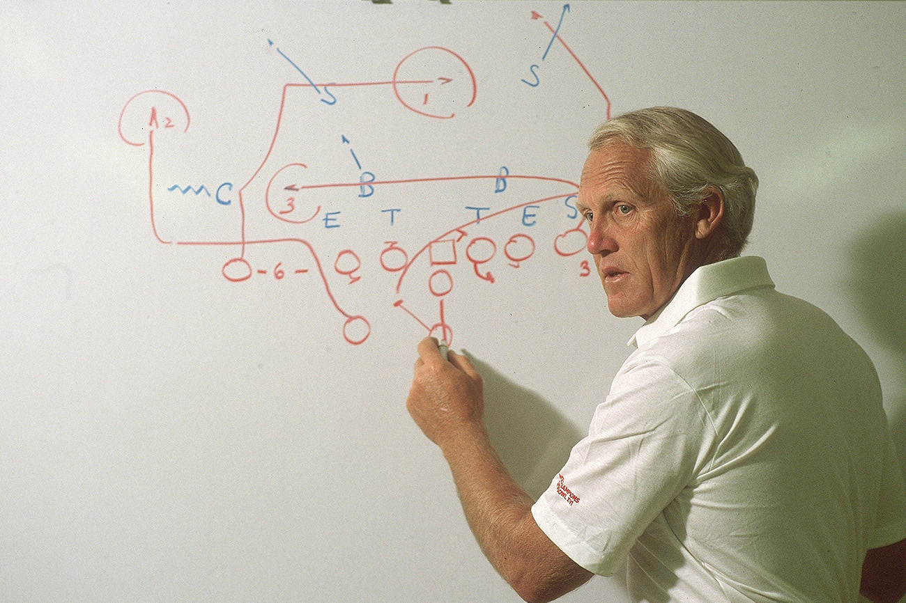 Bill Walsh was ahead of his time on analytics, even if he didn't know it.