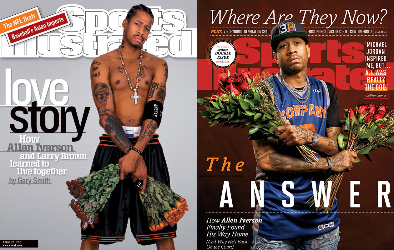 Allen Iverson Sports Illustrated covers