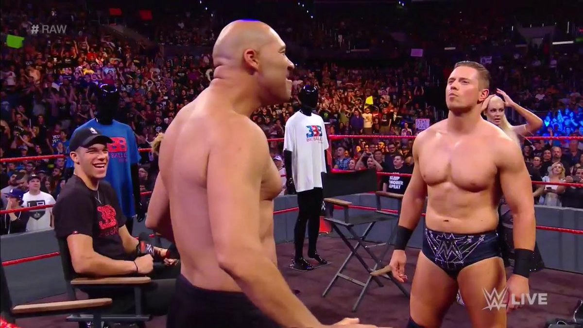 Video: LaVar Ball taking off his shirt salvaged a very boring WWE Raw segment