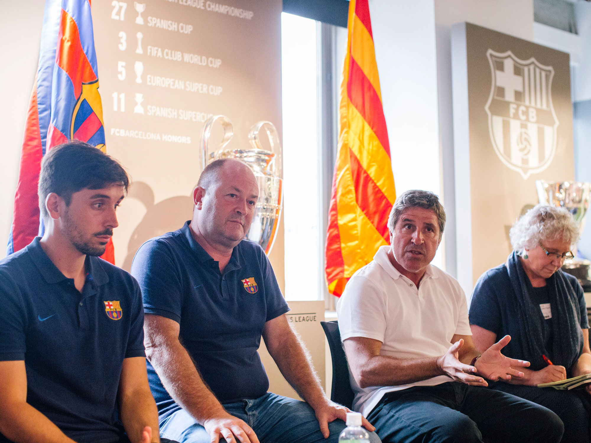 Jordi Roura is the head of Barcelona's academy and youth development