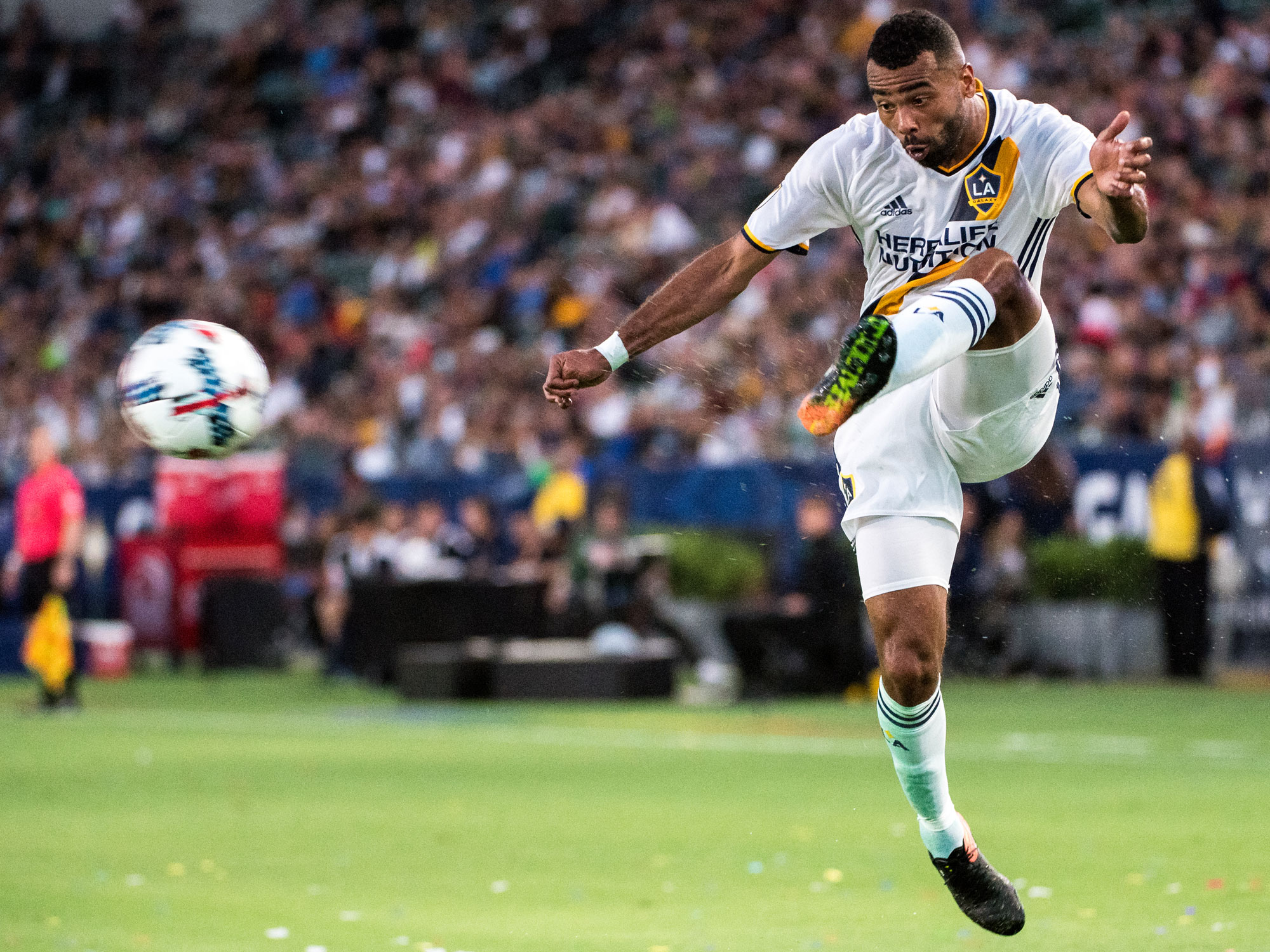 Ashley Cole has found a new home with the LA Galaxy