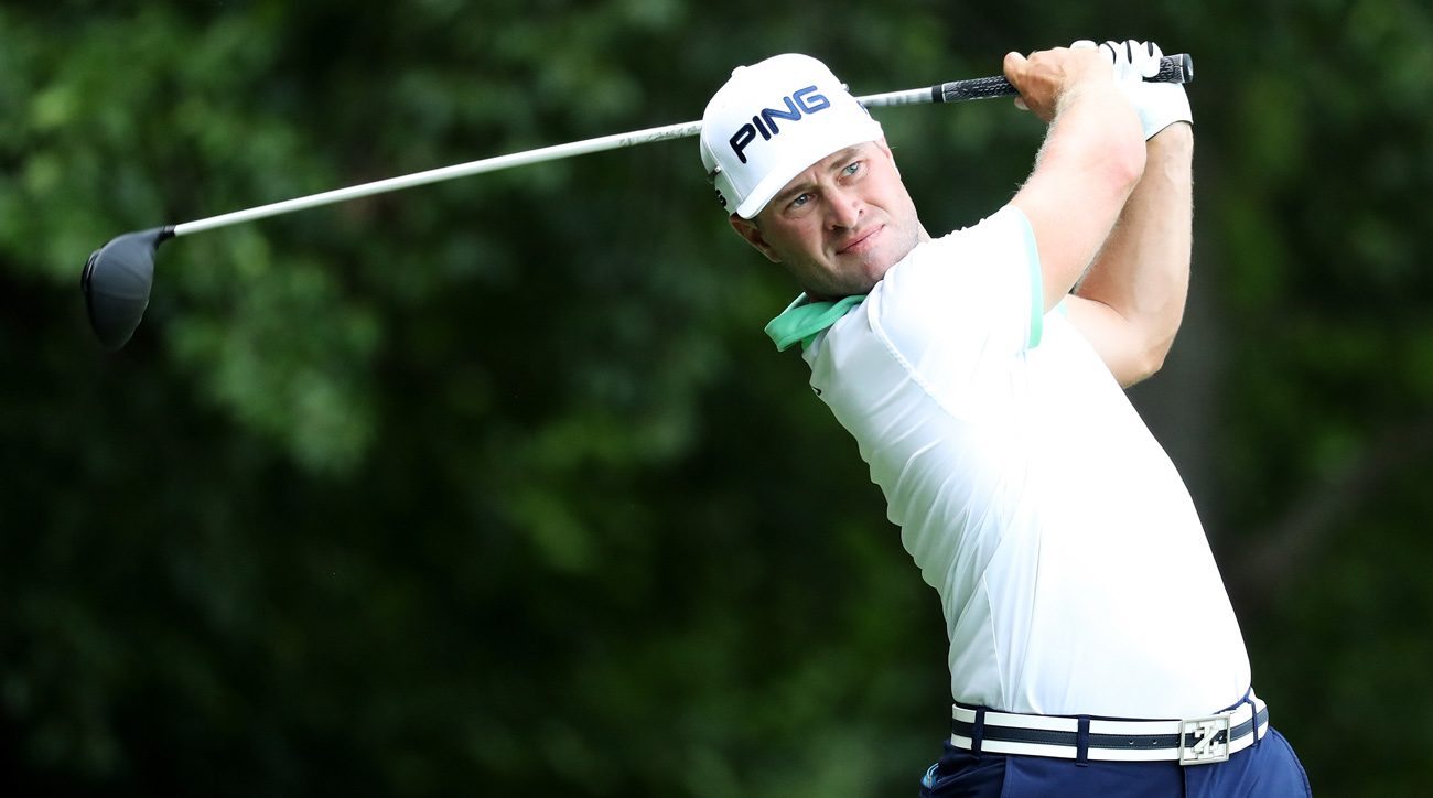 David Lingmerth during the first round of the Quicken Loans National.