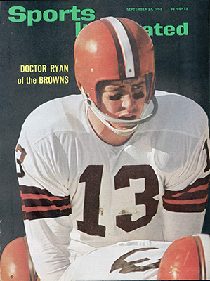 Dr. Frank Ryan graced the cover of the Sept. 27, 1965 cover of Sports Illustrated.