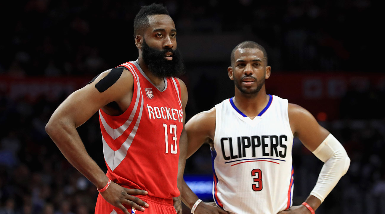 0232ebd4f763 Chris Paul s Fascinating Gamble On James Harden s Rockets