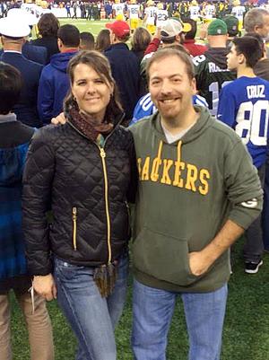 Meet the Press host Chuck Todd is a lifelong fan of the Green Bay Packers.