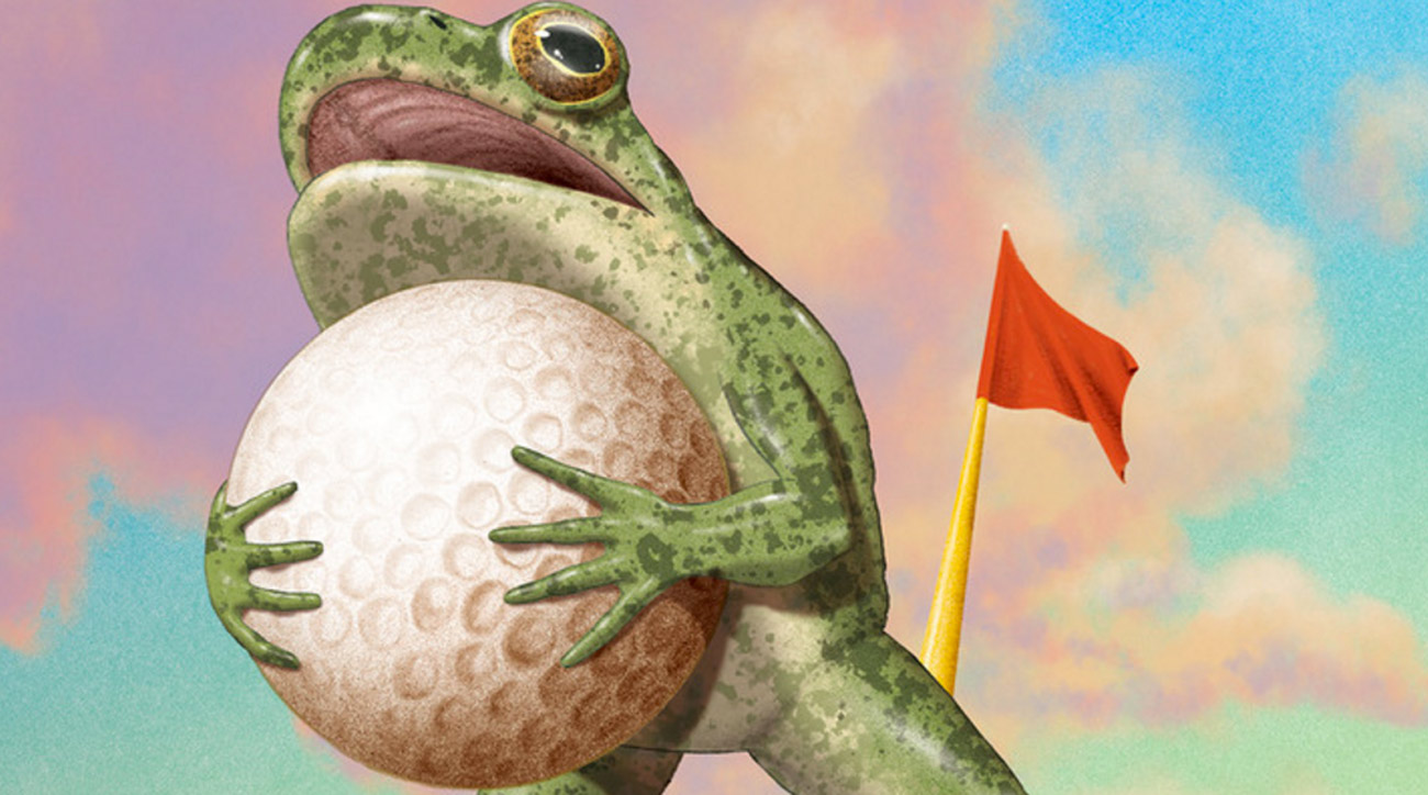 Golf can be quite ribbiting.