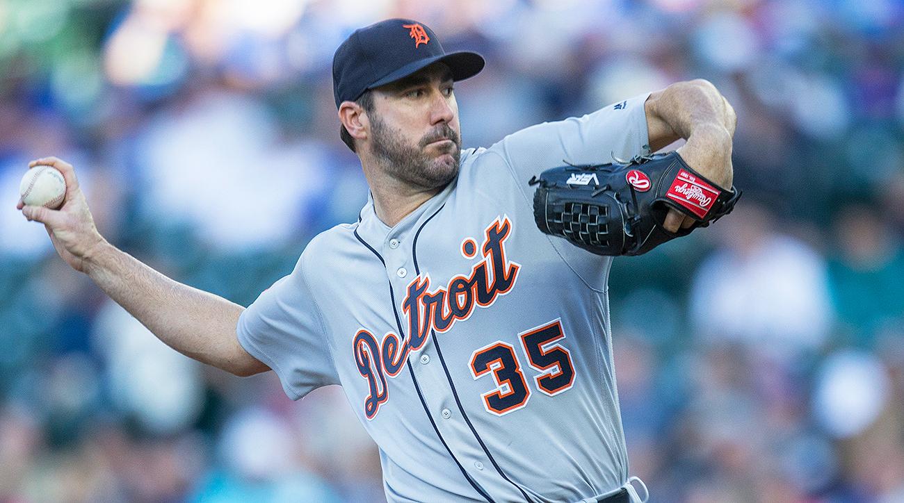 Detroit Tigers Justin Verlander