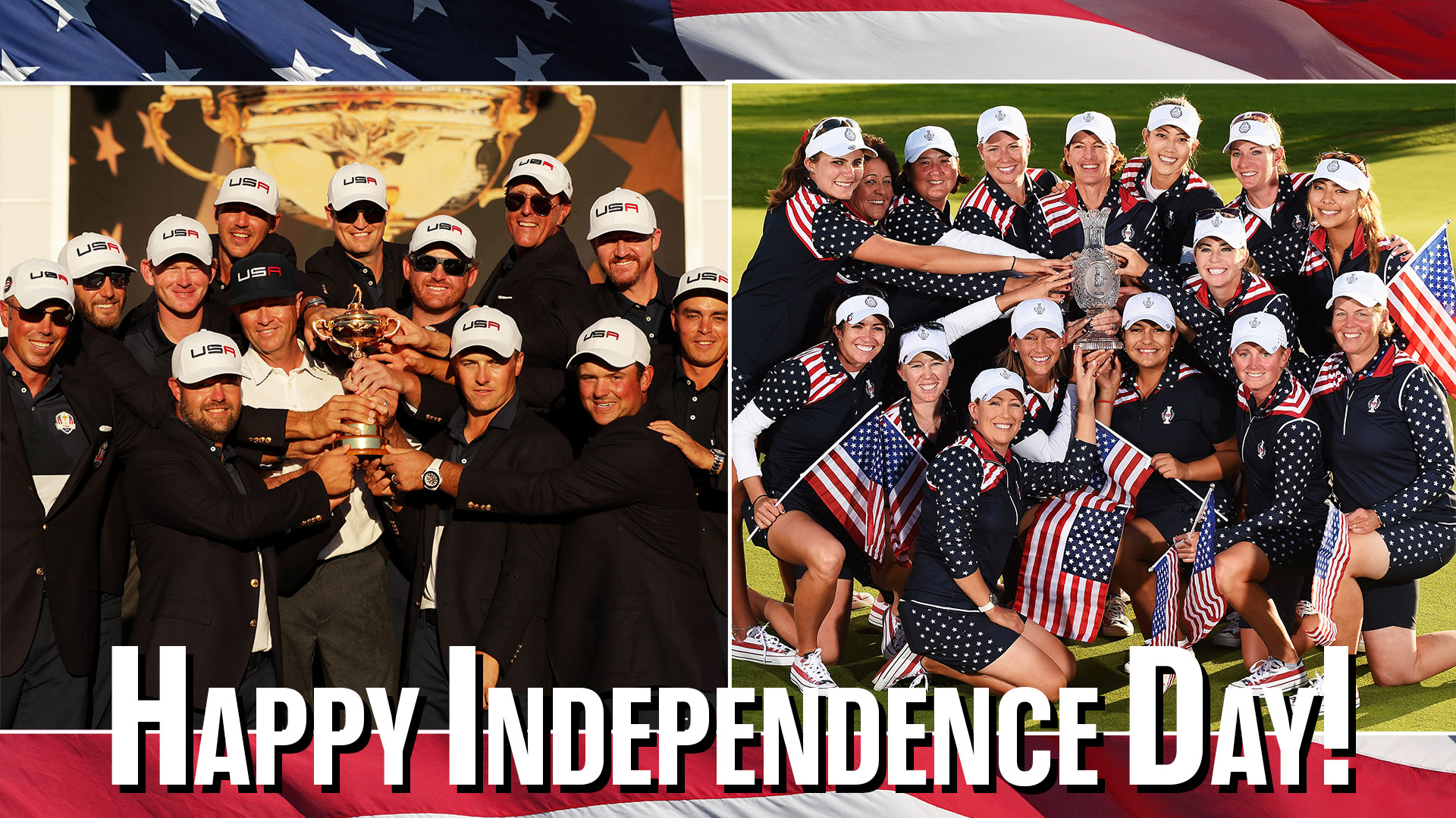 Happy Fourth of July from the pros!